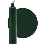 "Dark Green Pillar Candle 9"" :: Mental XS Online"