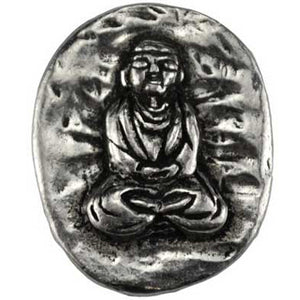 Buddha Pewter Pocket Stone :: Mental XS Online