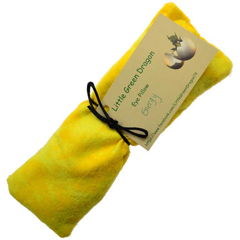 Yellow Energy eye pillow