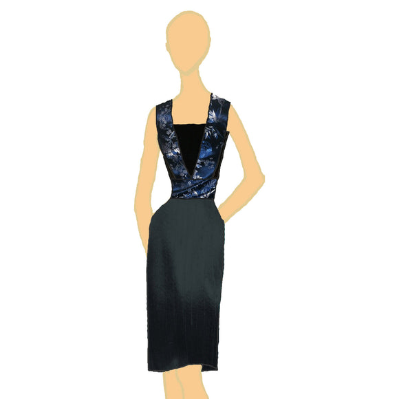 Bandeau Dress (US 4-14) from eve by Katerina :: Mental XS Online