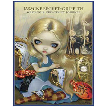 Alice in Wonderland Illustrated Journal by Jasmine Becket-Griffith (9¼