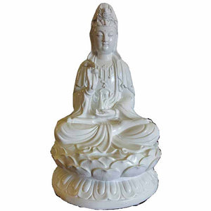 Guanyin Goddess of Compassion Statue 11""