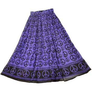 Purple Peace Skirt