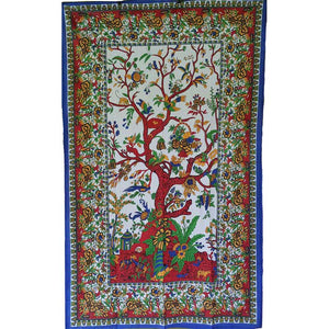 "Celtic Tree of Life Tapestry 54"" x 86"""