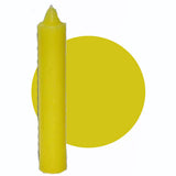 "Yellow Pillar Candle 9"" :: Mental XS Online"