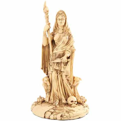 Hecate Greek Goddess Cold-Cast Resin Statue 11¼