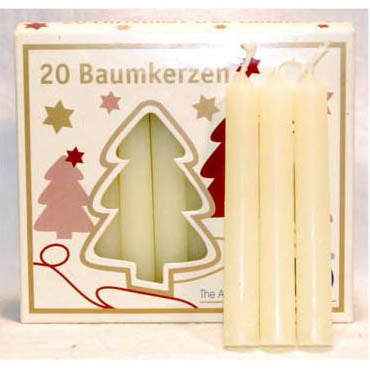 Ivory Chime Candles 4
