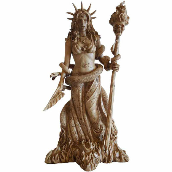 Hecate Greek Goddess Cold-Cast Resin Statue 10
