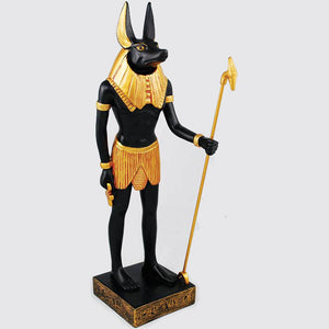 Anubis Egyptian God of the Underworld Statue 12""