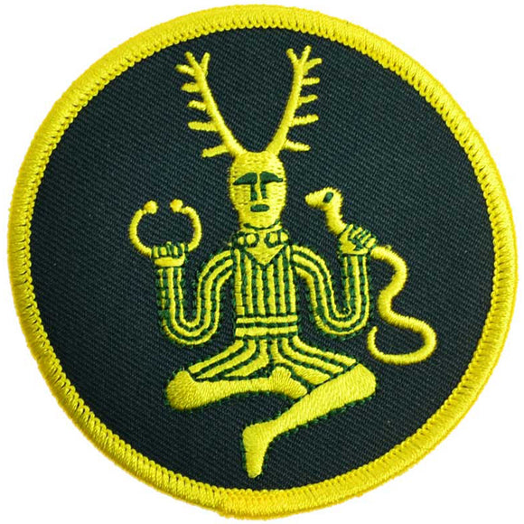 Cernunnos Celtic God Sew-on Patch 3