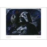 "Star Wars ""Sith Lord"" Unframed Paper Giclee Fine Art Print by Kim Gromoll [13"" x 19""] - Acme Archives Limited Edition 50 Pieces :: Mental XS Online"