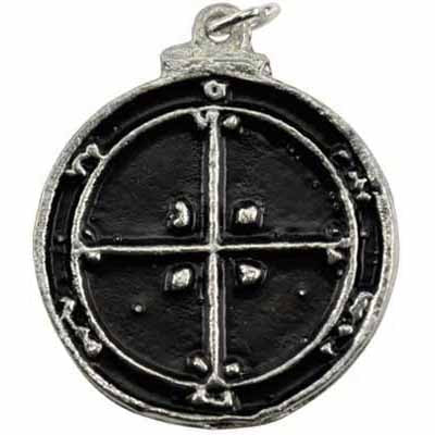 Fourth Pentacle of Mars Amulet Pewter Pendant (has cord) :: Mental XS Online