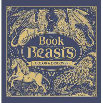 Book of Beasts Coloring Book (Hardcover)