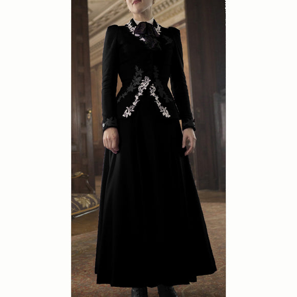 Dracula Lucy Westenra Velvet Skirt US 4-14 from Mental XS Online