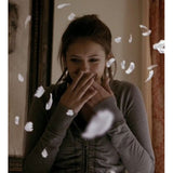 Vampire Diaries 1x08 Elena Gilbert Ruched Front Hoodie