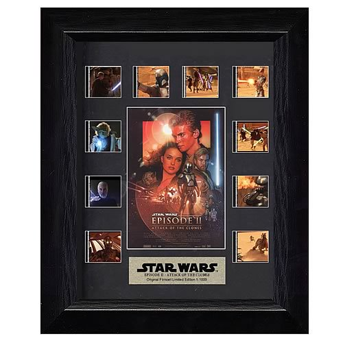 Star Wars Episode II: Attack of the Clones Mini Film Cell Display :: Mental XS Online