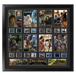 Lord of the Rings: Series 1 Montage Film Cell Display - Official Filmcells Ltd Limited Edition 2500 :: Mental XS Online