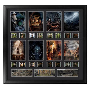 "The Hobbit: An Unexpected Journey Series 1 ""Scenery"" Film Cell Display - Official Filmcells Ltd Limited Edition 1000 :: Mental XS Online"