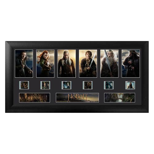 The Hobbit: Desolation of Smaug Series 1 Deluxe Film Cell Display - Official Filmcells Ltd Limited Edition 2500 :: Mental XS Online
