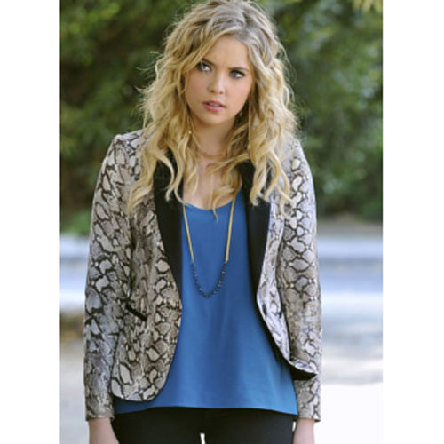 Pretty Little Liars Hanna Marin Snakeskin Jacket Ltd Ed (US 4-14) - The Costume Portal :: Mental XS Online