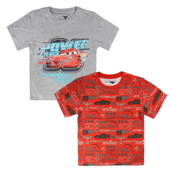 Disney Cars 3 Set of 2 Kids T-Shirts - Official CERDÁ :: Mental XS Online