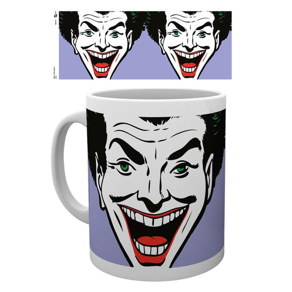 DC Comics Batman Joker Face Mug - Official GB EYE :: Mental XS Online