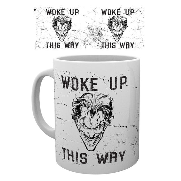 DC Comics Batman Comic Joker Woke Up This Way Mug - Official GB EYE :: Mental XS Online