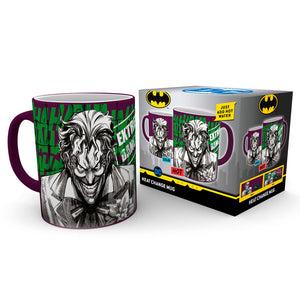 DC Comics Batman Comic Joker Heat Change Mug - Official GB EYE :: Mental XS Online