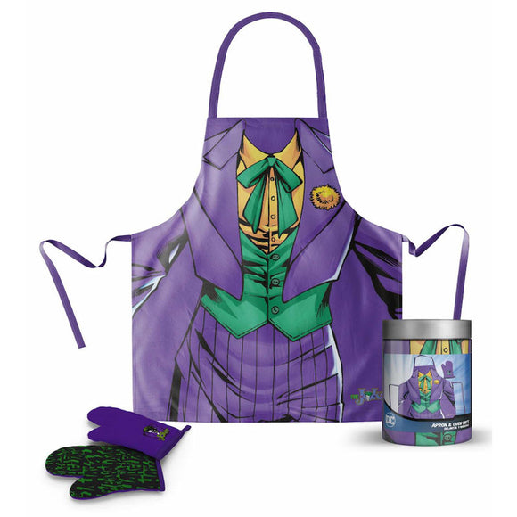 DC Comics Batman Joker Apron with Gloves - Official SD TOYS :: Mental XS Online