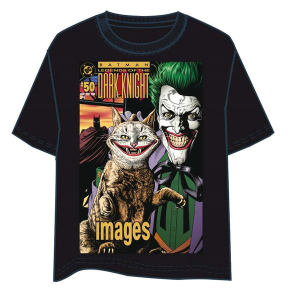 DC Comics Batman: The Darl Knight Joker Cat Adult T-Shirt - Small - Official DC COMICS :: Mental XS Online