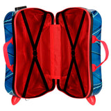 Marvel Comics Spiderman Children's ABS 4-way Suitcase - Directional - Official  :: Mental XS Online