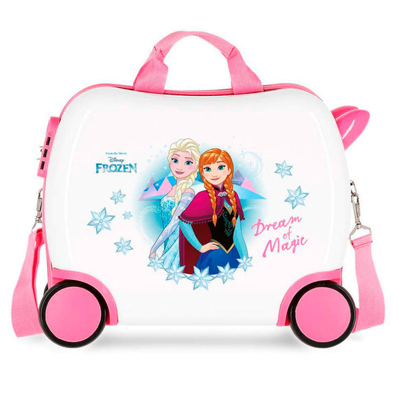 Disney Frozen Dream of Magic Children's ABS 4-way Suitcase - Small - Official NEXT DOOR UNIVERSAL :: Mental XS Online