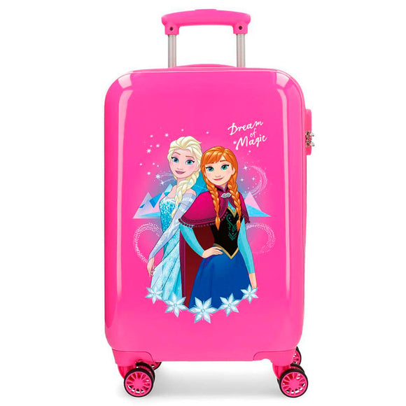 Disney Frozen Dream of Magic Pink ABS Trolley Suitcase - Official NEXT DOOR UNIVERSAL :: Mental XS Online