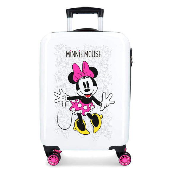 Disney Minnie Mouse Enjoy the Day ABS 4-way Trolley Suitcase - Official NEXT DOOR UNIVERSAL :: Mental XS Online