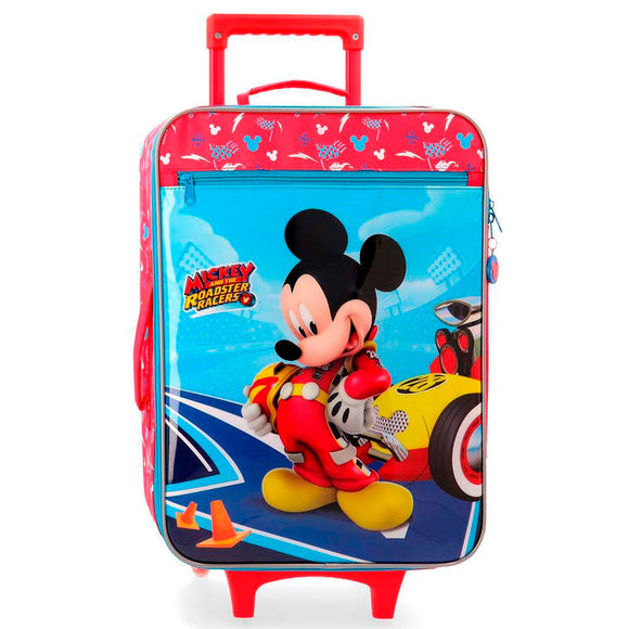 Disney Lets Roll Mickey Mouse ABS 4-way Trolley Suitcase - Official NEXT DOOR UNIVERSAL :: Mental XS Online