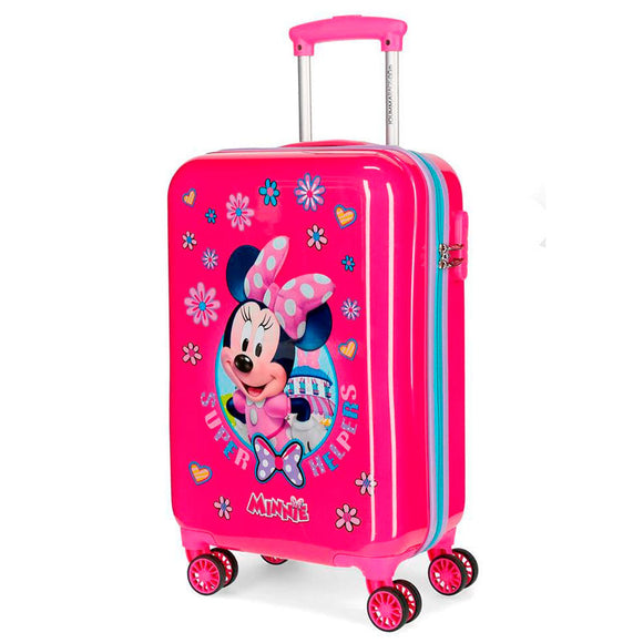 Disney Minnie Mouse Supper Helpers ABS 4-way Trolley Suitcase - Official NEXT DOOR UNIVERSAL :: Mental XS Online