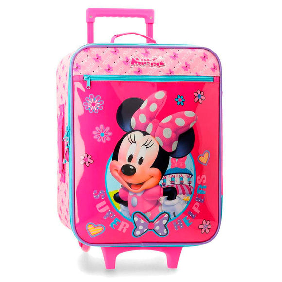 Disney Minnie Mouse Supper Helpers Trolley Suitcase - Official NEXT DOOR UNIVERSAL :: Mental XS Online