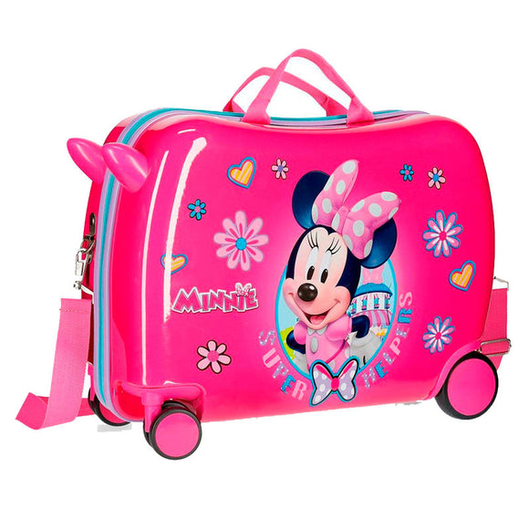 Disney Minnie Mouse Supper Helpers Children's ABS 4-way Suitcase - Directional - Official NEXT DOOR UNIVERSAL :: Mental XS Online