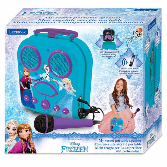 Disney Frozen Portable Karaoke Suitcase - Official LEXIBOOK :: Mental XS Online