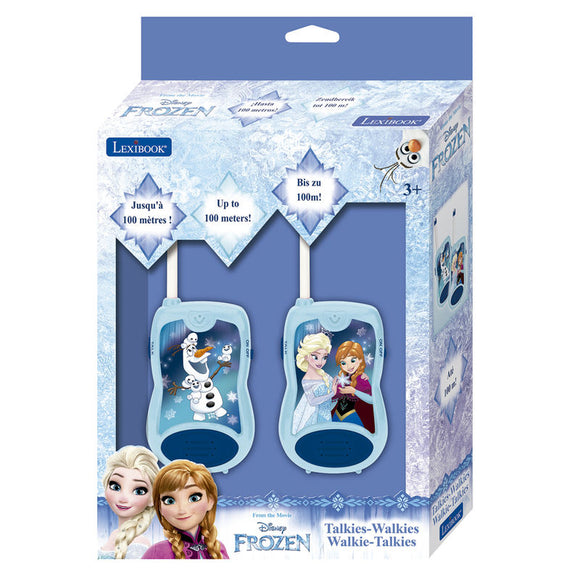 Disney Frozen Walkie Talkies 2-Pack - Official LEXIBOOK :: Mental XS Online