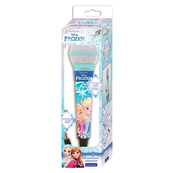 Disney Frozen Microphone - Official LEXIBOOK :: Mental XS Online