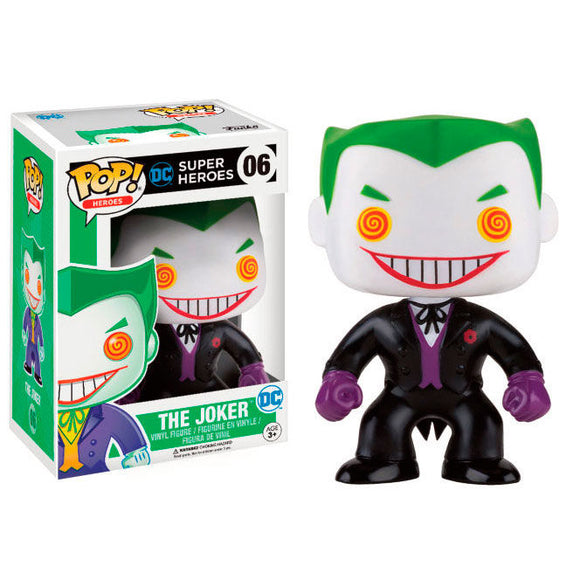 DC Comics Batman Joker Black Suit Exclusive Pop! Vinyl Figure #06 - Official FUNKO :: Mental XS Online