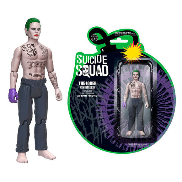 DC Comics Suicide Squad Shirtless Joker Figure - Official FUNKO :: Mental XS Online