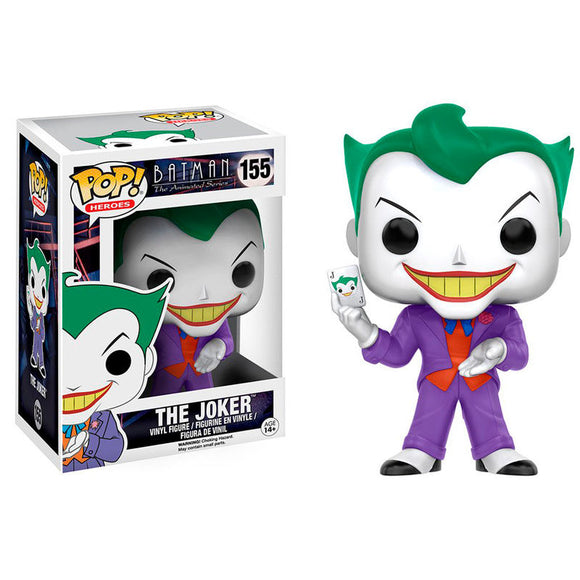 DC Comics Batman Animated Joker Pop! Vinyl Figure #155 - Official FUNKO :: Mental XS Online