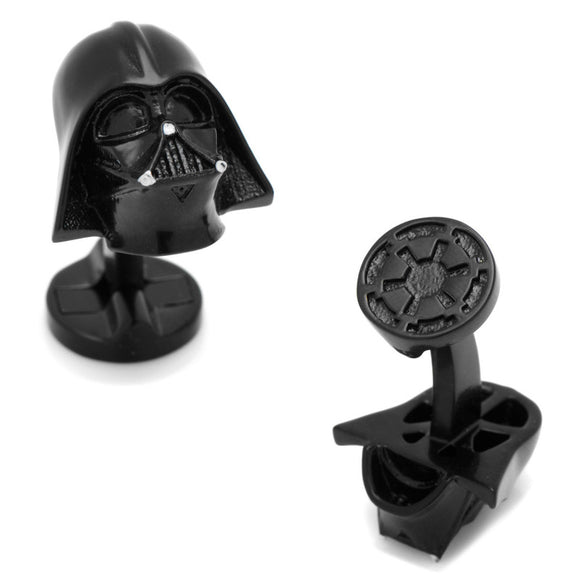 Star Wars Darth Vader Helmet 3D Black Cufflinks - Official Cufflinks Inc :: Mental XS Online