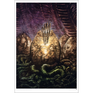"Aliens ""Theory of Propagation"" Unframed Paper Giclee Fine Art Print by John Bolton [19"" x 13""] - Acme Archives Limited Edition 395 Pieces :: Mental XS Online"