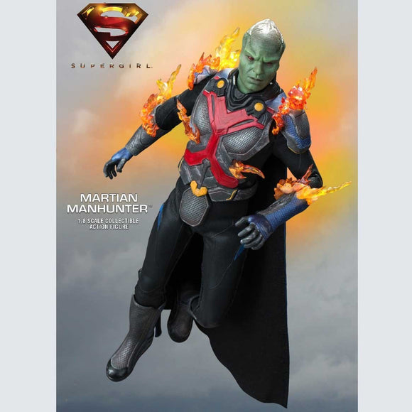 DC Comics Supergirl 2015 TV Series - Martian Manhunter Deluxe Version 1:8 Scale Figure - Official Star Ace :: Mental XS Online