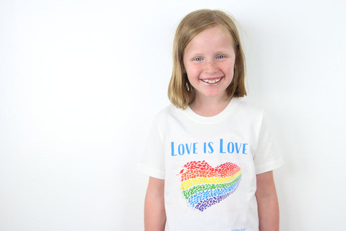 Love is Love organic cotton Fair Trade tee