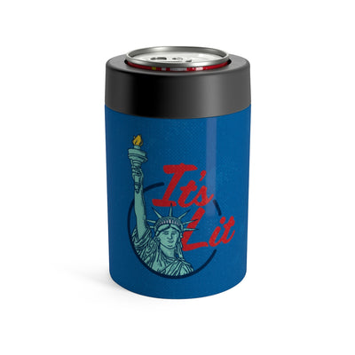 It's Lit (Statue of Liberty) Can Cooler-Mug-Printify-12oz-Famous IRL
