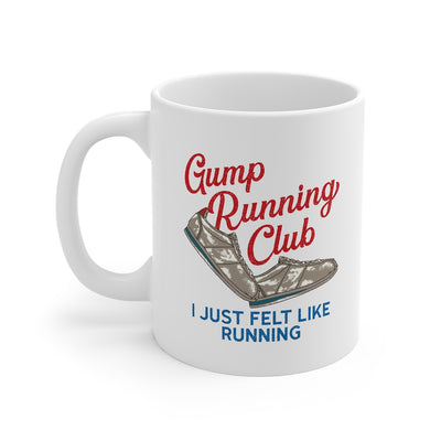 Gump Running Club Coffee Mug-Mug-Printify-11oz-Famous IRL